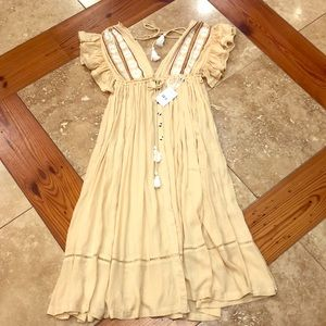 NWT boho FREE PEOPLE DRESS